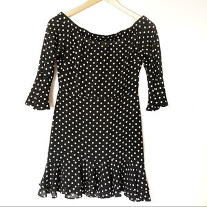 ▫️Topshop▫️polka dot dress